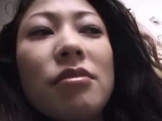Hairy japanese milf pussytoying and fucking